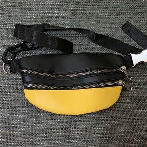 BRAND NEW Belt Bag Yellow Black Waist Bag